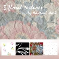 Floral Texture Pack 02 by Elaweasel