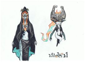 Midna the small and Royal by Keyaro