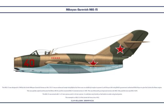 MiG-15 USSR 5 by WS-Clave