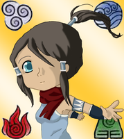Chibi Korra by WickidJennie