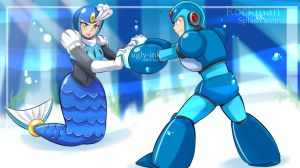 Commission RockMan by Ugly-Ink