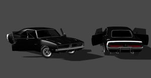 DODGE CHARGER by Oo-FiL-oO
