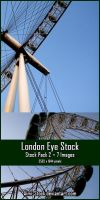 London Eye Stock - Pack 2 by Aimi-Stock