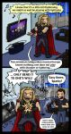 Avengers: Playing with Lightning by blackbirdrose