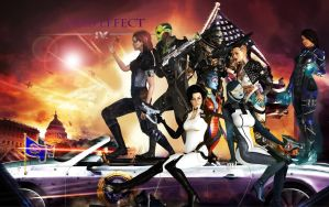 Mass effect aka Saints Row by xkalipso