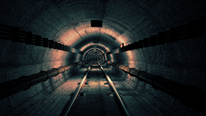 3D Model Tunnel Undergrond by james3