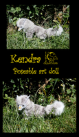 Kendra - Poseable art doll by Ishtar-Creations