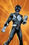 Black Power Ranger Print by ChrisSummersArts