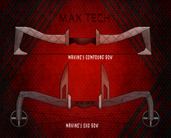 Maxine's Compound and Exo bows by OUTMACED121