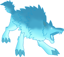 Ghost Wolf by Ket-Shi