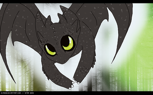 Toothless.. by CHANELGoo