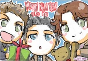 SPN : Happy New Year 2010 by soleil7775