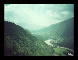 Fly through the Valley by kingshrestha