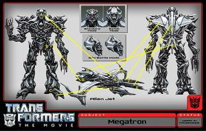 Movie Megatron transformation. by TwV