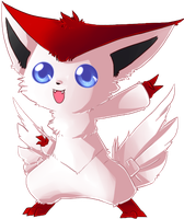 Shiny Victini by Glyon