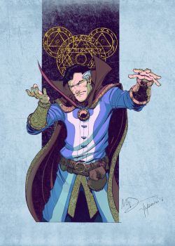 Dr  Strange By Max Dunbar by yinfaowei