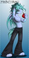 An Apple a Day by albinoshadow