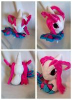 Chibi Milotic plush by LRK-Creations