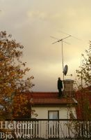 The man on the roof by Helenabw