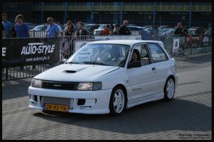 1991 Toyota Starlet GT Turbo by compaan-art
