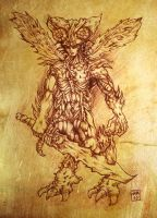 Beelzebub, Lord of the Flies by hawanja