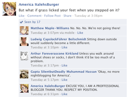 Hetalia Facebook: Nightblogger by gilxoz-epicness