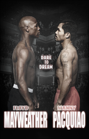 Mayweather vs Pacquiao Poster by Rzr316