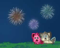 Fireworks by bubbIies