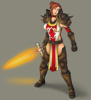 Commission - High General Brigitte Abbendis by KatrinaBonebrake