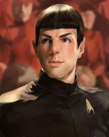 Star Trek 2009: Spock by flightangel