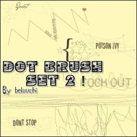 Dot Set brush 2 by beluuchi