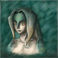 Zora - Twilight Princess -art by LiKovacs