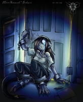 Fear from behind the door by Dokuro