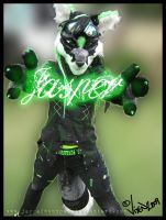 Jasper Fursuit 1 by Vixen8387