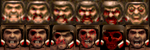 Hi Res Quake 64 Faces by Jameswhite89