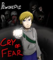Pewdiepie - Cry of Fear by WOLFCAT22