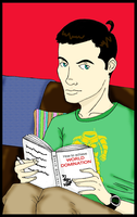 Dr Sheldon Cooper PhD - Prize for AnimeWiccan725 by BrightRedEyes