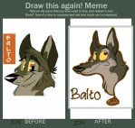 Balto Improvement by RogueAtSketches