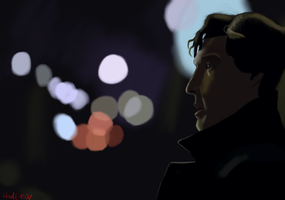 City Lights by Bloodfire09
