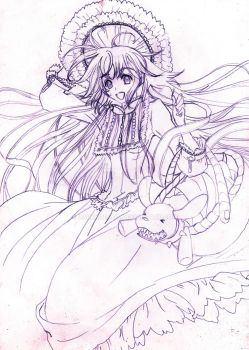 Kobato a mano by DarkKobato