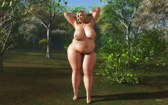 BBW_Alice_Happy and Free by Rendermojo