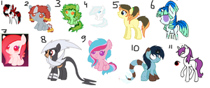 Free Ponies (READ RULES GOOD) ::closed:: by tiffanykip
