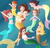 What happened to Ariel's sisters? Adella by Willemijn1991