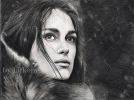 Keira Knightley by LitKonn