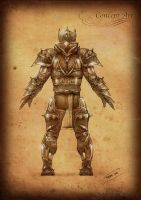 Black Age Online Armor back by rafater