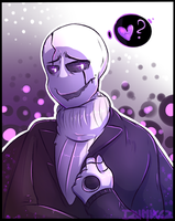 Give Gaster some love please by Izudraws