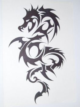 dragon tatoo by kenofchaos