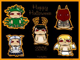 Happy Squibble Halloween by MiniLeiProductions