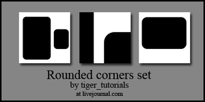 Rounded corners by Martini-Tiger-Bianco