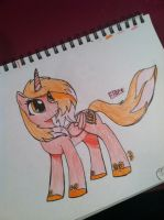 Flare! MLP drawing by CookieMonsta409